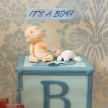 Baby shower cakes London, baby boy cakes, children's cakes london