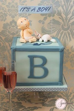 Baby Boy Cakes Baby Shower Cakes London Cake Designer