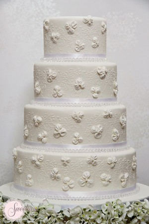 Crystal Wedding Cakes, Great Gatsby Wedding Cakes London