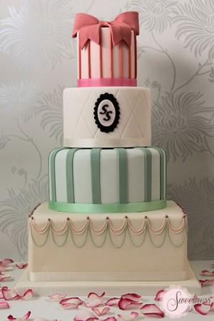 Vintage wedding cake, Wedding Cake Company London