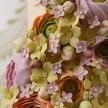 Spring wedding cakes, peach wedding cakes