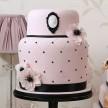 Pink Wedding Cakes, Cameo Wedding Cakes, London Wedding Cakes